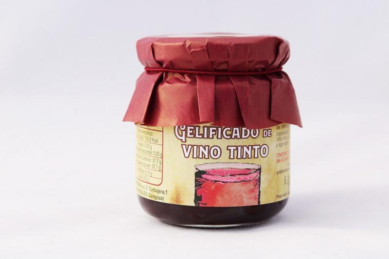 Gelificado de Vino Tinto