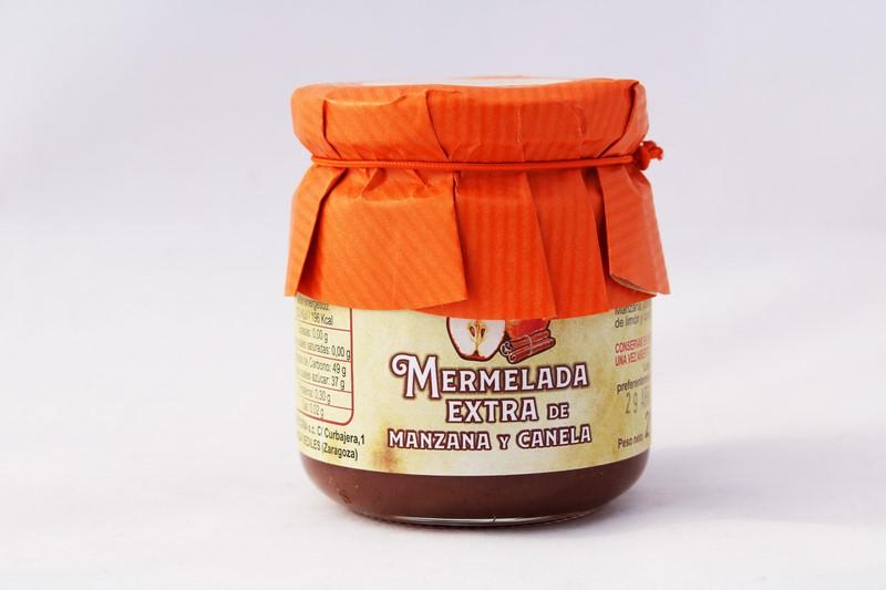 Mermelada Extra de Manzana y Canela